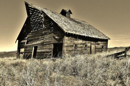 Stara stodoła skrywała broń palną z II wojny światowej